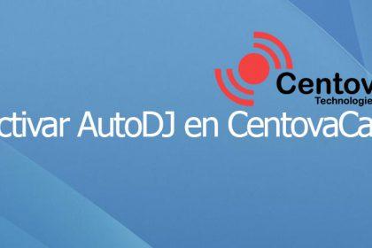 Activar AutoDJ en CentovaCast