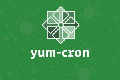 actualizaciones automáticas con yum-cron en CentOS 7