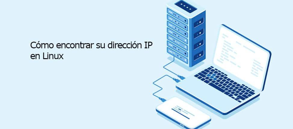 Cómo encontrar su dirección IP en Linux