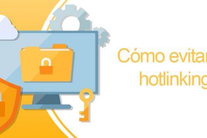 Cómo evitar el hotlinking