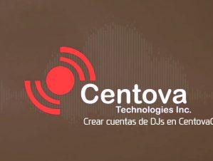 Crear cuentas de DJs en CentovaCast