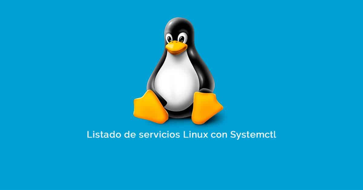 Listado de servicios Linux con Systemctl