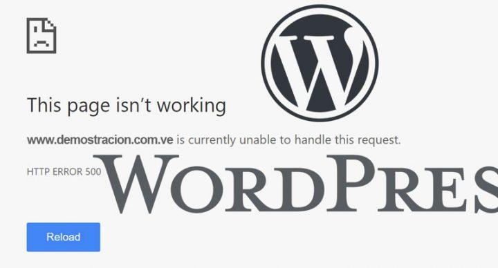Cómo Arreglar el Error 500 en WordPress
