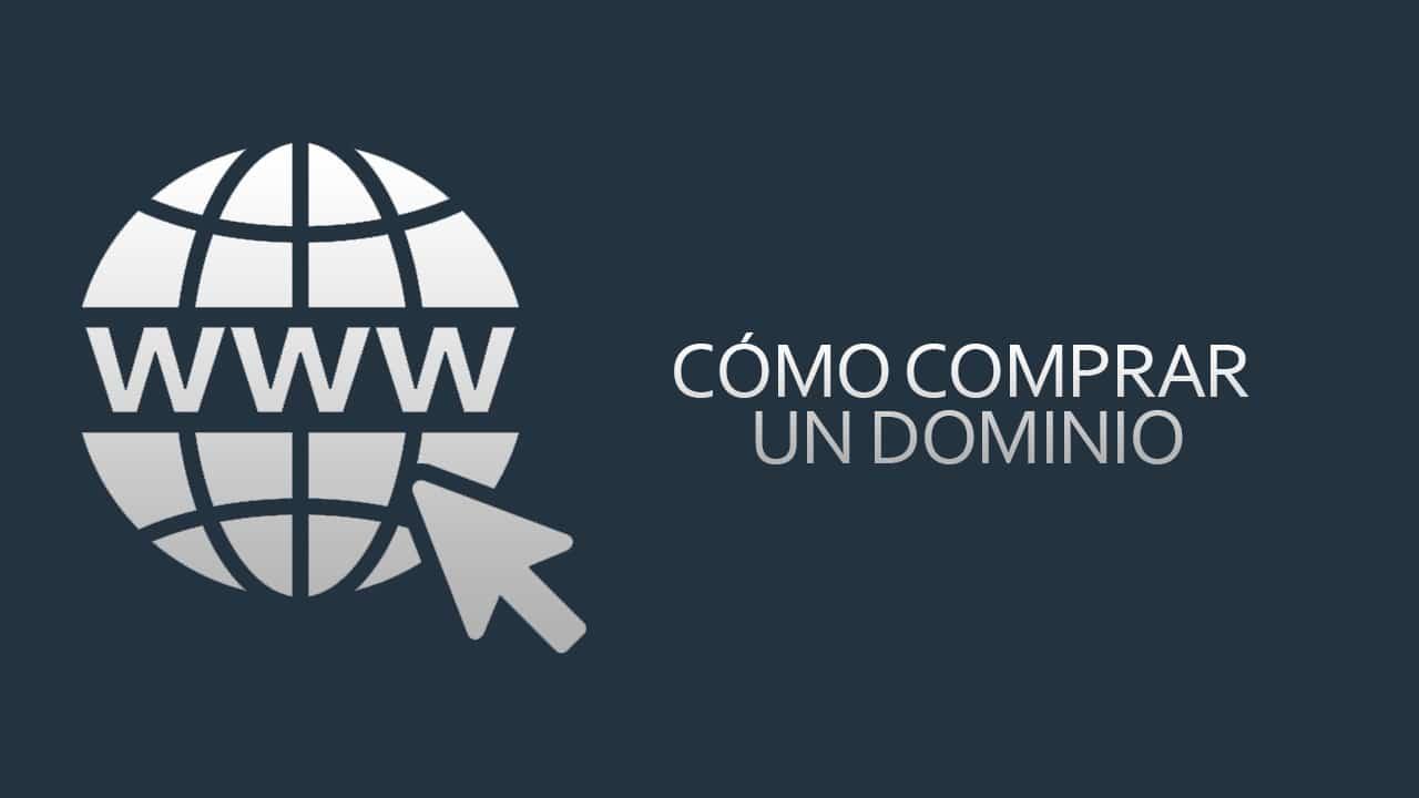 Cómo comprar un dominio