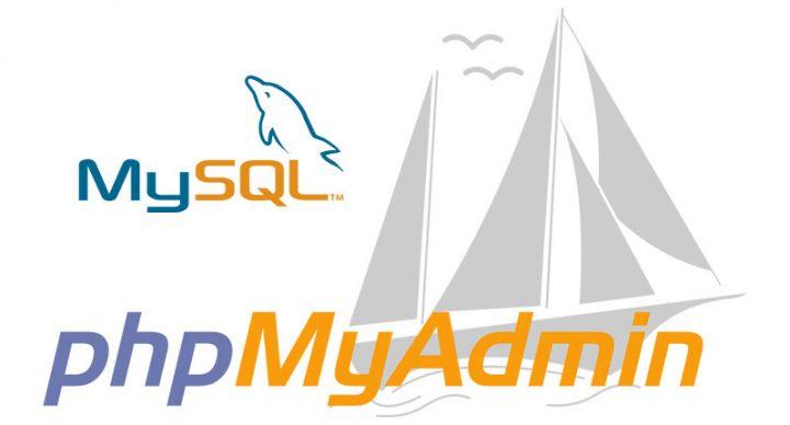 Cómo restablecer una base de datos MySQL de respaldo con phpMyAdmin